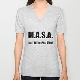 M.A.S.A Unisex V-Neck