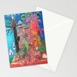 Akashic Library Stationery Cards