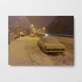 Winter in Sandyford Metal Print