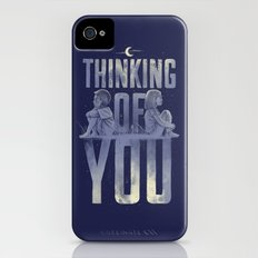 'Thinking of You' iPhone (4, 4s) Slim Case