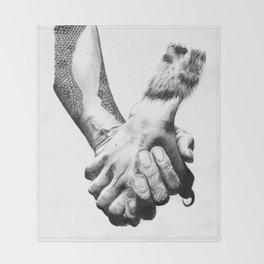 Human Nature: Hands Throw Blanket