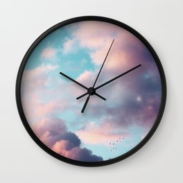 Clouds Paradise Wall Clock