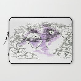 THE WORLD WAS BORN WITH US: THE SWIM Laptop Sleeve