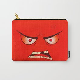 Angry Face Carry-All Pouch