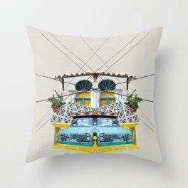Fruit Car - Beirut Throw Pillow