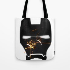 UNREAL PARTY 2012 AVENGERS IRON MAN SPARKS FLYERS  Tote Bag
