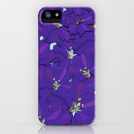 Larkspur Love iPhone Case
