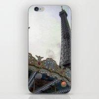 paris iPhone & iPod Skins featuring Paris by zenitt