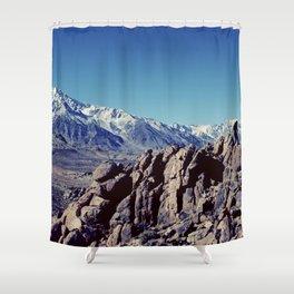 vast horizons Shower Curtain
