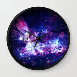 Shadows in the space Wall Clock