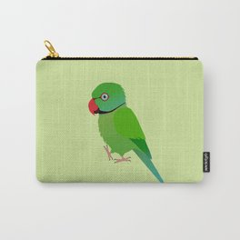 Cute Indian ringneck parakeet Carry-All Pouch