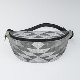 GREY DIAMOND LINEN Fanny Pack