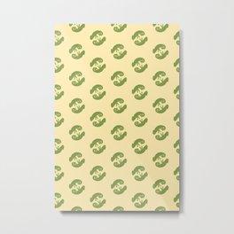 Cute chameleons Metal Print