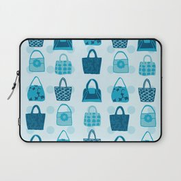 Handbag Heven Blues with Spots Laptop Sleeve