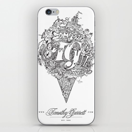 TG - Cone iPhone & iPod Skin