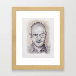 Breaking Bad Walter White Framed Art Print
