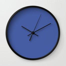 Amparo Blue Trending Color Basic Simple Plain Wall Clock