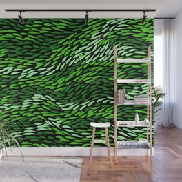 Authentic Aboriginal Art - Grass Wall Mural