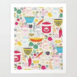 Eat Your Veggies! Art Print