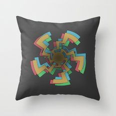 Caustic Celtic Throw Pillow