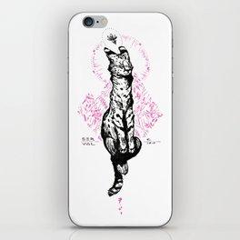 Blushy Serval iPhone Skin