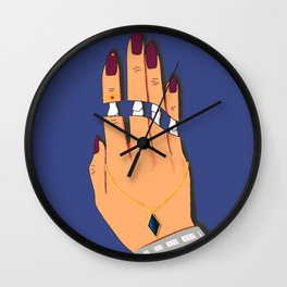 Deadly Touch Wall Clock