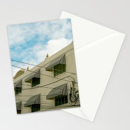 Miami Old Motel on Film Stationery Cards