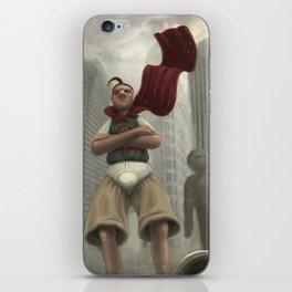 untitled hero iPhone Skin