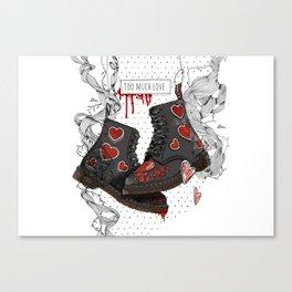 too match Canvas Print