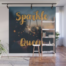 Sparkle Queen Wall Mural