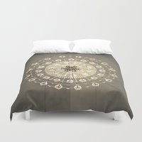 chandelier Duvet Covers featuring Chandelier by vonschnitzenberg