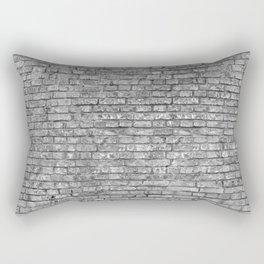 Vintage Brick Wall Rectangular Pillow