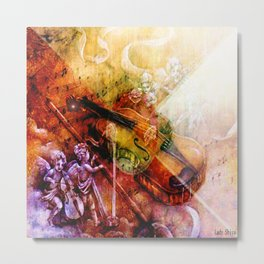 The melody of the paradise Metal Print