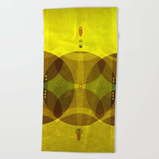 Tribal Beach Towel