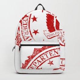 FBI Rubber Stamp Backpack