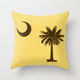 The SC Palm Throw Pillow