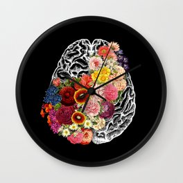 Love Your Brain Wall Clock