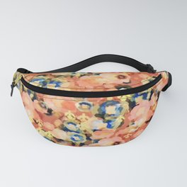 floral explosion. Fanny Pack