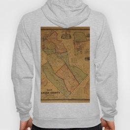 Map Of Camden 1857 Hoody
