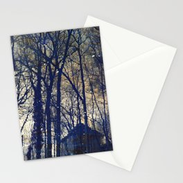 Tree Old House Stationery Cards