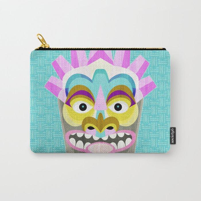 Hawaiian Tiki Aloha Carry-All Pouch