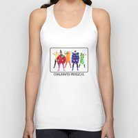 vegetables Tank Tops featuring Human Vegetables by Orbon Alija