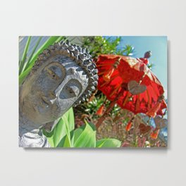 The garden of tranquility Metal Print