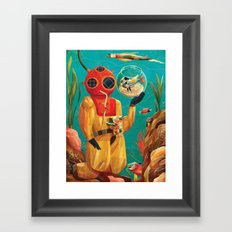 Fish Tank Framed Art Print
