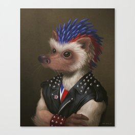 The Hedgehog Canvas Print