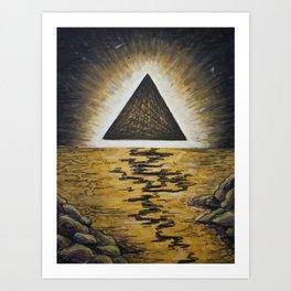 Interstellar Sky Art Print