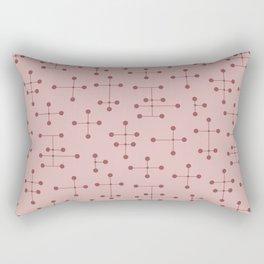 Atomic Era Dots 132 Rectangular Pillow
