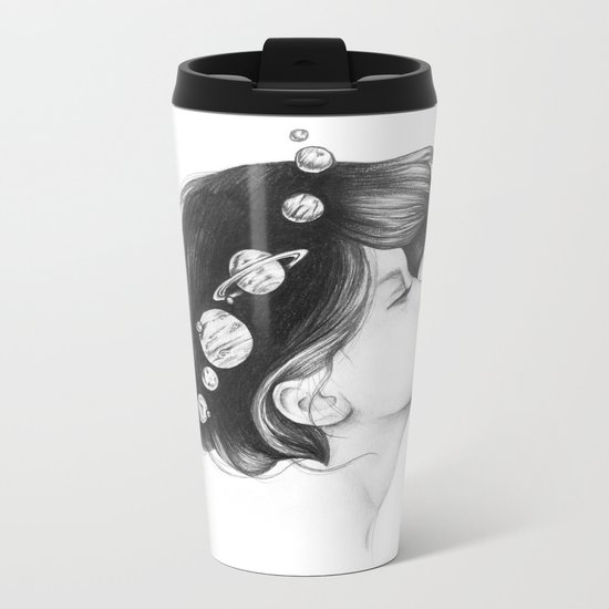 Cosmic Matter Metal Travel Mug