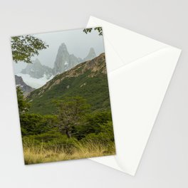 Tree and Mountain Stationery Cards