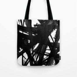 Abstract Strokes Tote Bag